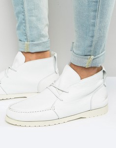 Кожаные ботинки Shoe The Bear Misu - Белый