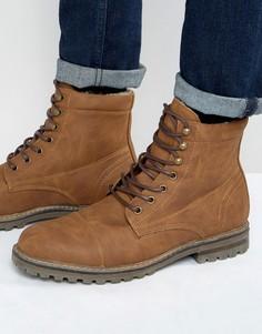Утепленные ботинки на шнуровке Call It Spring Criliwen - Рыжий