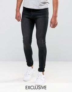Серые джинсы из мягкого денима Liquor & Poker - Серый