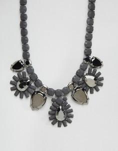 Ожерелье с камнями Girls On Film - Черный