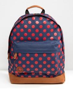 Рюкзак в горошек Mi-Pac - Темно-синий