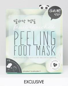 Отшелушивающая гелевая маска для ног Oh K - Бесцветный
