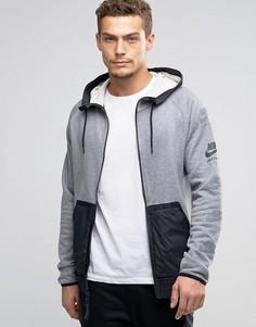 Серая ветровка Nike International 802480-091 - Серый