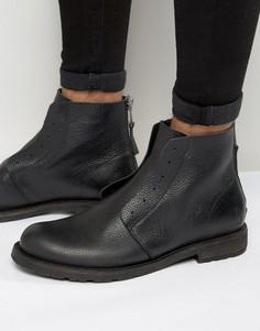 Кожаные ботинки Shoe The Bear Graham - Черный