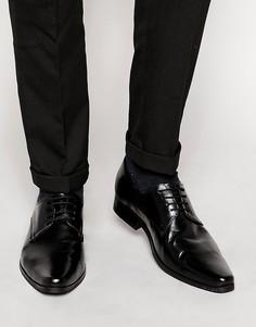 Кожаные туфли дерби Frank Wright - Черный