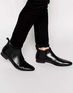 Ботинки челси Walk London Mark - Черный