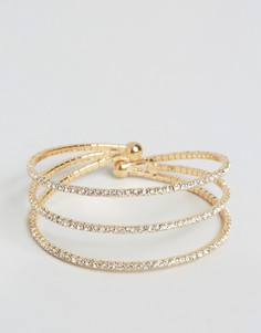 Cara NY 3 Row Bangle - Золотой