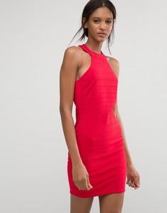 Бандажное платье Club L - Красный