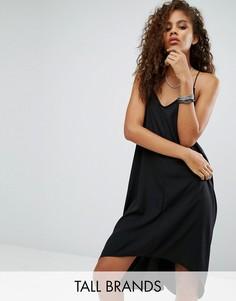 Платье-комбинация Noisy May Tall Kafi - Черный