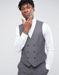 Облегающий жилет Burton Menswear - Серый