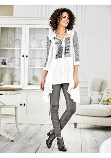 Удлиненная блузка Linea Tesini