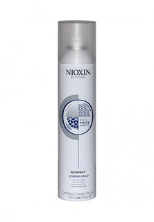 Лак спрей сильной фиксации Nioxin