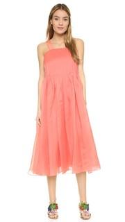 Плиссированное платье ISA Tibi