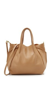 Объемная сумка Zoe с короткими ручками Oliveve