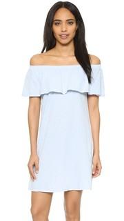 Платье Ithaca с открытыми плечами и оборками Velvet