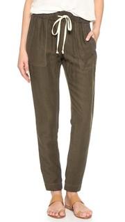 Легкие льняные брюки Enza Costa