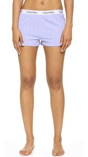 Домашние шорты с логотипом Calvin Klein Underwear