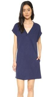 Платье с короткими рукавами и карманами Lanston