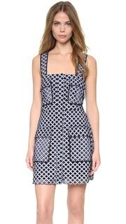 Мини-платье в стиле фартука Kendall + Kylie