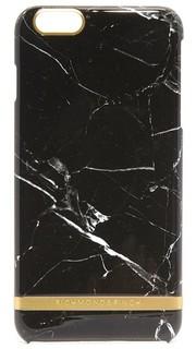 Чехол для iPhone 6 Plus/6s Plus с принтом под черный мрамор Richmond & Finch