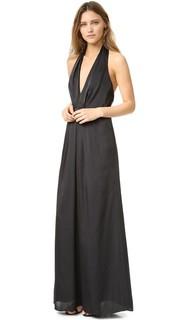 Вечернее платье с глубокой V-образной проймой Jill Jill Stuart