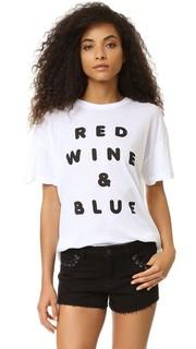 Футболка Red Wine And Blue Wildfox