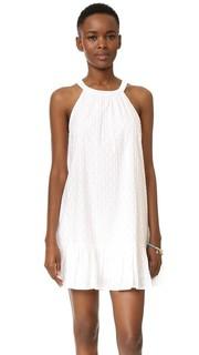 Платье в флокированный горошек Dover Splendid