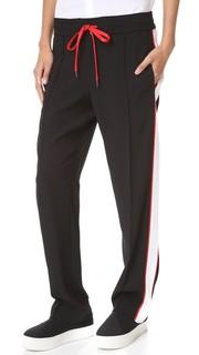 Атласные спортивные брюки Kenzo