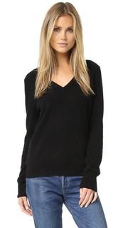 Кашемировый свитер с V-образным вырезом Cecile Equipment