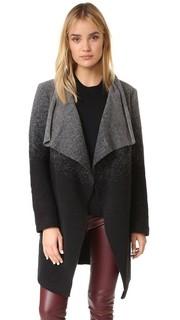 Пальто Kinney с эффектом «омбре» и драпировкой спереди BB Dakota