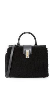 Маленькая сумочка West End с короткой шерстью и ручкой сверху Marc Jacobs
