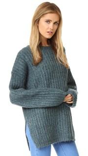 Свитер-пуловер в рубчик See by Chloe