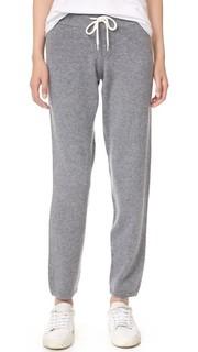Винтажные спортивные брюки из кашемира Monrow