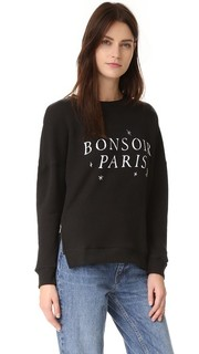 Толстовка Bonsoir Paris с молнией сбоку Chrldr