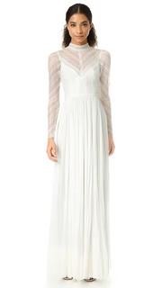 Вечернее платье с высокой горловиной Lily J. Mendel