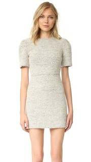 Платье Genny с рукавами-буфами Alice + Olivia