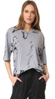 Bird Print T-Shirt Baja East