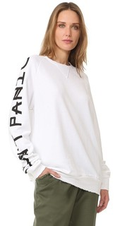 Don't Panic Long Sleeve Sweatshirt Baja East