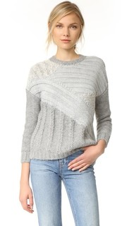 The Mixed Cable Sweater Current/Elliott