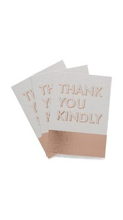 Благодарственные открытки в коробке Fringe