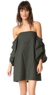 Платье Pillar с открытыми плечами MLM Label