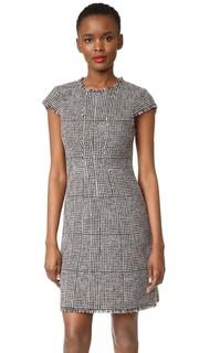 Платье без рукавов с узором «гусиные лапки» Rebecca Taylor