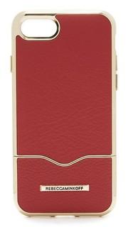 Чехол-слайдер для iPhone 7 со вставкой Rebecca Minkoff