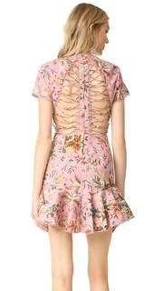 Платье Tropicale с решетчатой отделкой Zimmermann