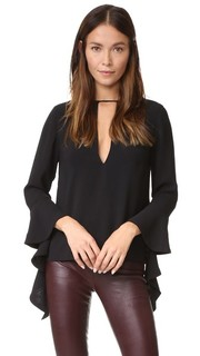 Spelt Out Long Sleeve Top C/Meo Collective