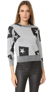 Tips Knit Sweater Cheap Monday