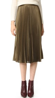 Annina Pleated Skirt Club Monaco