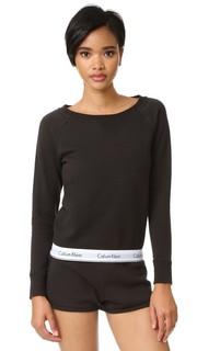 Современная толстовка из хлопка с длинными рукавами Calvin Klein Underwear