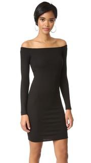 Мини-платье с открытыми плечами Enza Costa