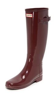 Оригинальные глянцевые сапоги Refined Hunter Boots